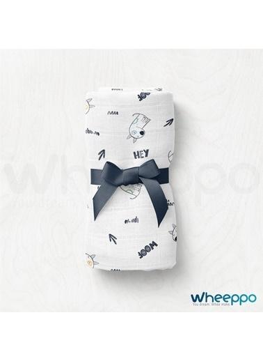 Wheeppo Woof  Müslin Örtü  70*80 Cm Renkli